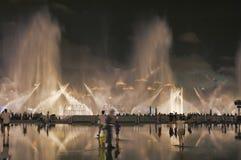 квадрат фонтана Стоковые Фото