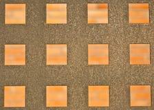 квадрат формы металла загородки Стоковые Изображения