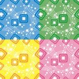 квадрат цвета circumf предпосылки Иллюстрация вектора
