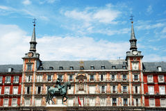 квадрат 2010 Испании площади мэра madrid Стоковые Фото
