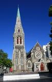 квадрат christchurch собора Стоковые Фото