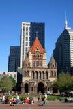 квадрат copley boston стоковые изображения