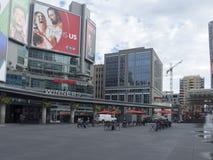 Квадрат Dundas, Торонто, Канада стоковое фото rf