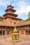 Квадрат durbar в Patan в Kathmandu Valley Стоковые Фотографии RF