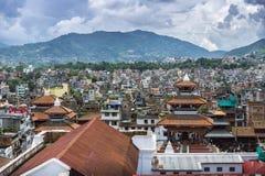 Квадрат Durbar и Kathmandu Valley, Катманду, Непал стоковые фото