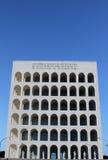 квадрат eur roma Колизея Стоковое Изображение