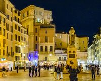 Квадрат Fiori dei Campo, Рим, Италия стоковое фото