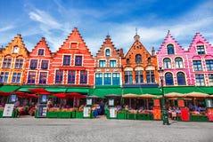 Квадрат Grote Markt стоковые фото