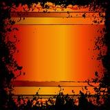 квадрат grunge граници Стоковые Фотографии RF