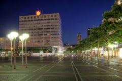 квадрат konstablerwache frankfurt Германии стоковое фото rf
