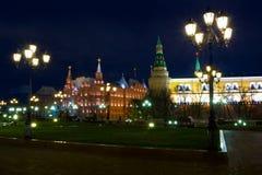 квадрат kremlin красный стоковые фотографии rf