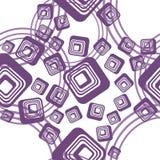 квадрат lilas окружностей предпосылки Иллюстрация штока