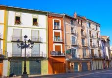 Квадрат Mercat площади Xativa в Валенсия стоковые изображения rf