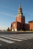 квадрат moscow красный России Стоковое Изображение