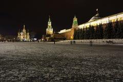 квадрат moscow красный Стоковое Фото