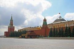 квадрат moscow красный Стоковая Фотография RF
