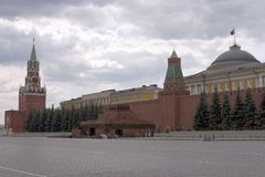 квадрат moscow красный Стоковые Фото