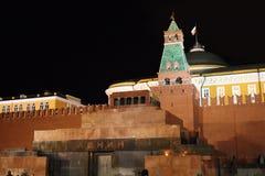 квадрат moscow мавзолея lenin красный Стоковые Фотографии RF
