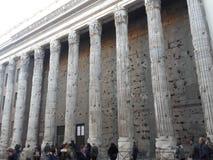 квадрат pietra Рима стоковые фотографии rf