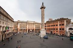квадрат rome colonna Стоковая Фотография RF
