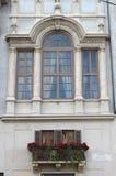квадрат rome navona балкона стоковые фото