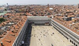 Квадрат ` s St Mark в Венеции, Италии Стоковое Изображение