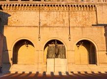 Квадрат Sant Agata стоковое изображение rf