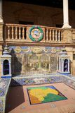 квадрат seville Испании детали стоковое фото rf