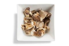 квадрат shitake высушенных грибов шара Стоковая Фотография RF