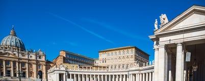Квадрат St Peter на ясный день Стоковые Изображения RF