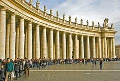 Квадрат St Peter стоковая фотография
