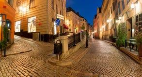 Квадрат Stortorget в Стокгольме, Швеции Стоковые Изображения RF
