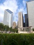 квадрат wrigley памятника тысячелетия chicago Стоковые Фото