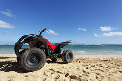 квад пляжа Стоковое Фото