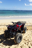 квад пляжа Стоковая Фотография