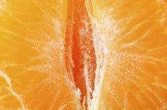 Кварталы Tangerines или Клементинов Стоковое фото RF