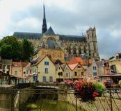 Квартальный лей Святого в Амьене Франции стоковые фото