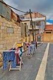 Квартал Mea Shearim в Иерусалиме стоковое изображение