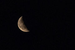 Квартал луны и звезд Стоковые Фотографии RF