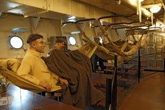 Кварталы спать экипажа стоковое изображение