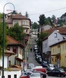 Квартал mahala Сараева Alifacovac стоковое изображение rf