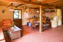 Квартира двора глины стоковая фотография