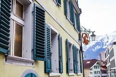 Квартира в Швейцарии стоковая фотография