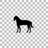 Квартира значка лошади иллюстрация вектора