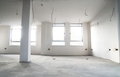 квартира конструкции пустая Стоковое Изображение RF