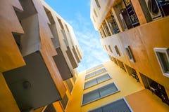 Квартира подъема взгляда ` s муравья высокая Стоковое Фото
