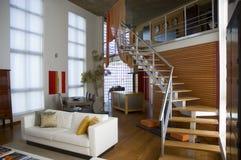 Квартира просторной квартиры Стоковое Изображение RF