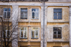 квартира сделала старый Совет Стоковое фото RF