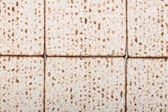 Квартира текстуры Matzah предпосылки еврейской пасхи кладет праздник Nisan pesach еврейский Стоковое фото RF