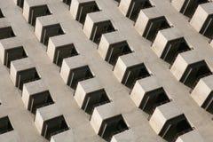 квартиры блока балконов Стоковое фото RF